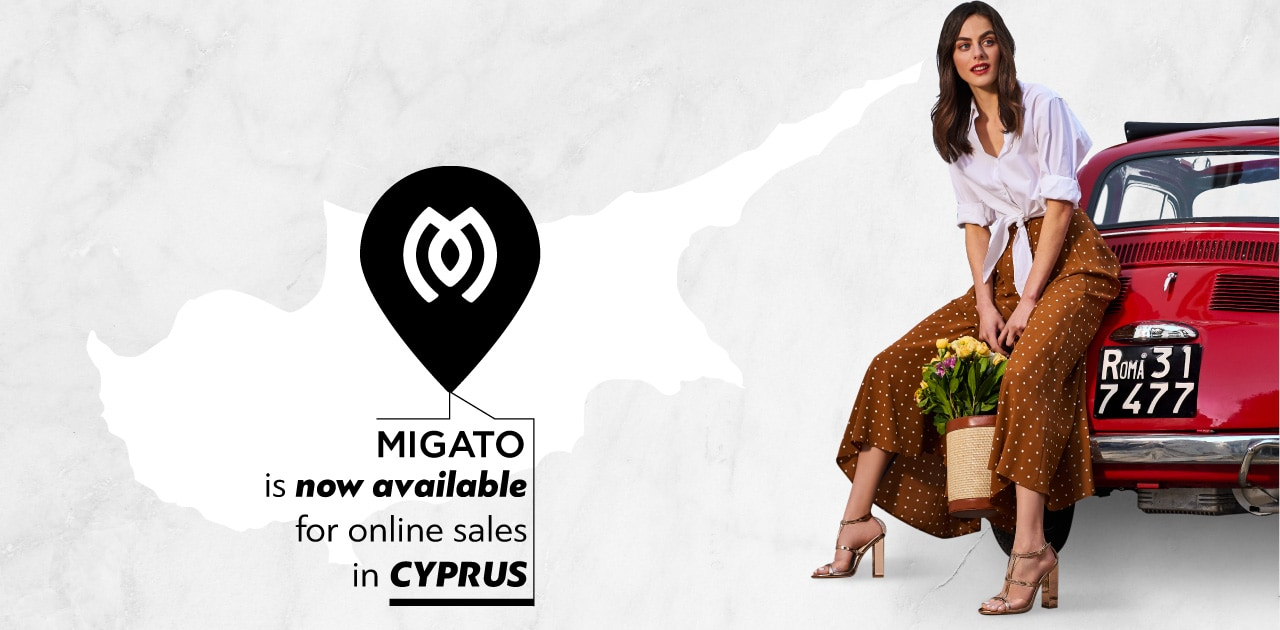 MIGATO SHOES NOW AVAILABLE IN CYPRUS